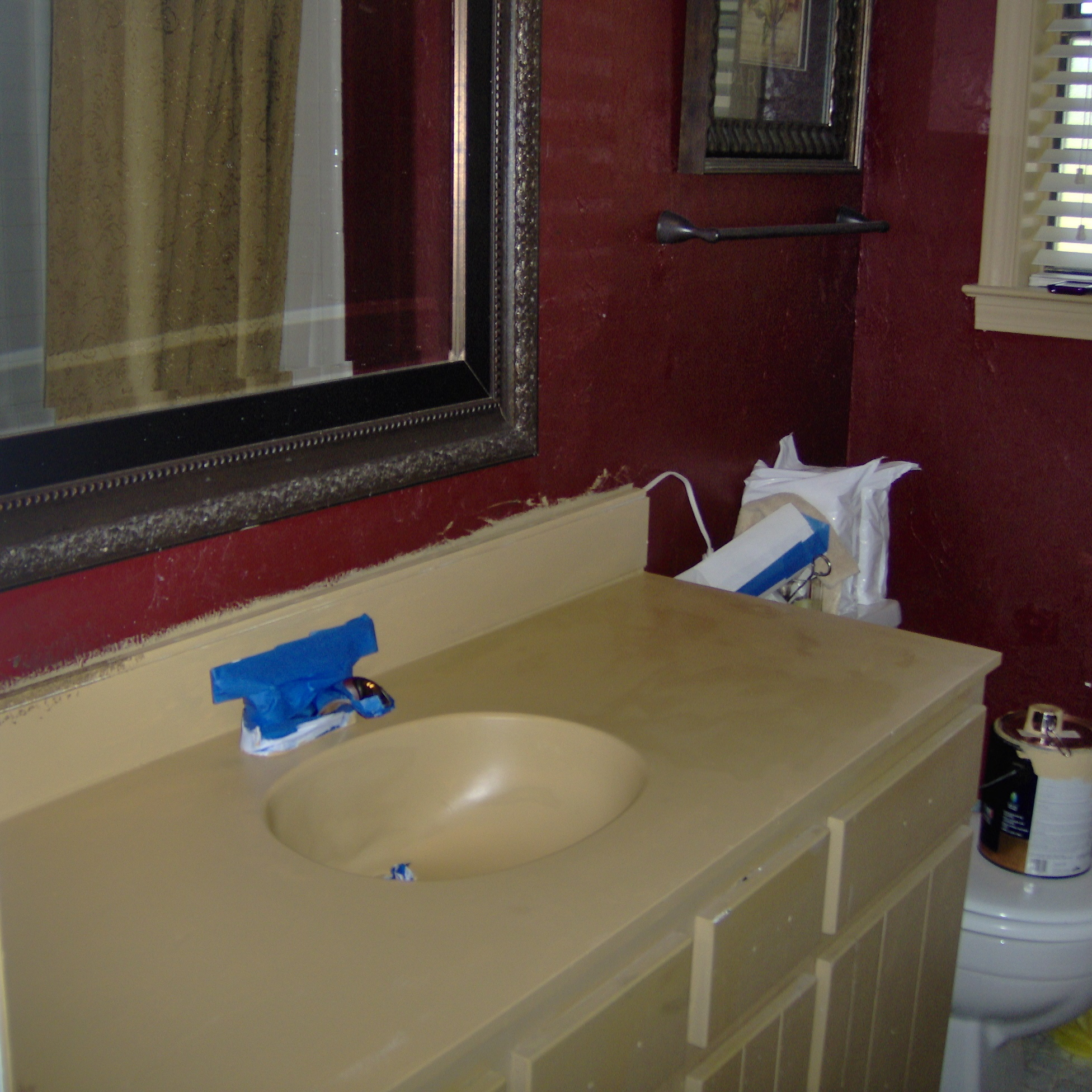 What Kind Of Paint Do I Use In A Bathroom: Painting A Vanity Top