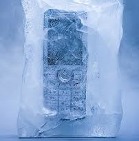 Ice your cell phone