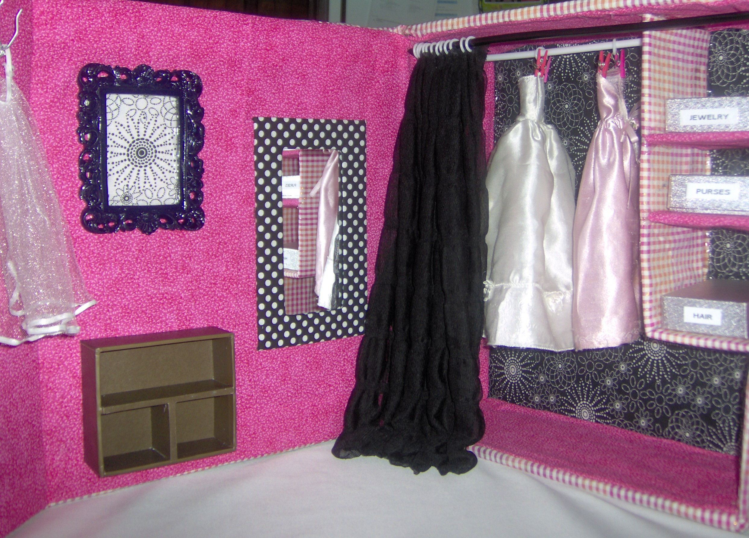 ideas on clothing l barbie diy view for storage about larger closet bedroom clothes best